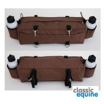Cantle Bag with 2 Bottles